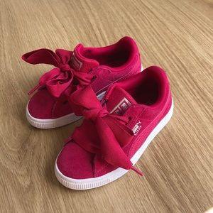 Puma Suede Pink sneakers